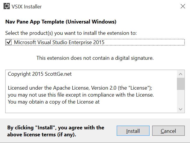 Nav Pane App Template (Universal Windows) - Visual Studio Marketplace